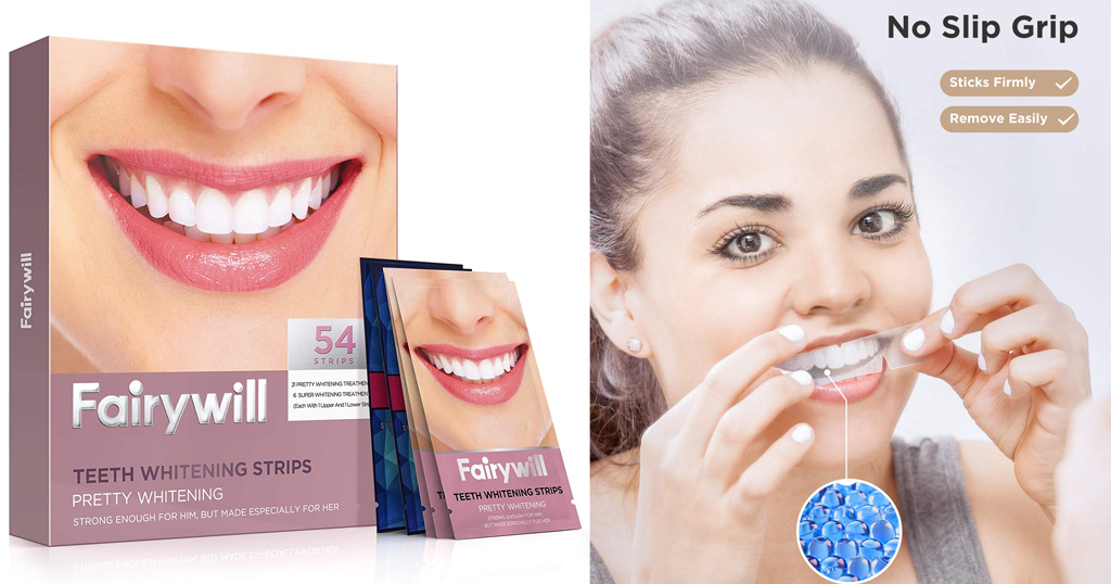 54 Piece Teeth Whitening Strips Only $12.49 Shipped on Amazon (Regularly $28.99)