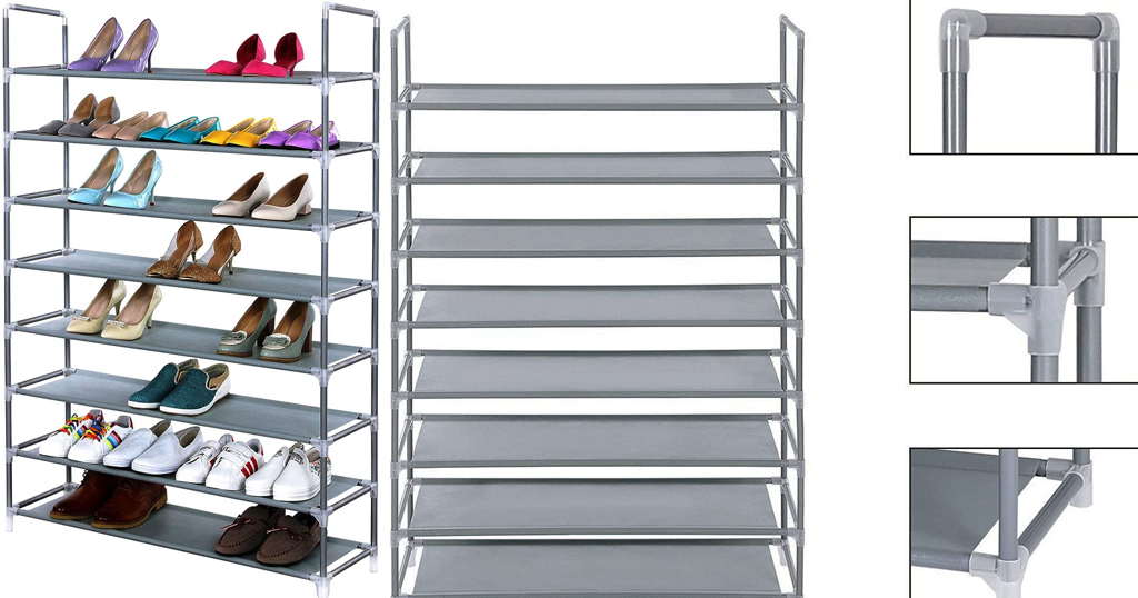 8 Tier Shoe Tower Only $22.19 Shipped on Amazon (Regularly $73.99)