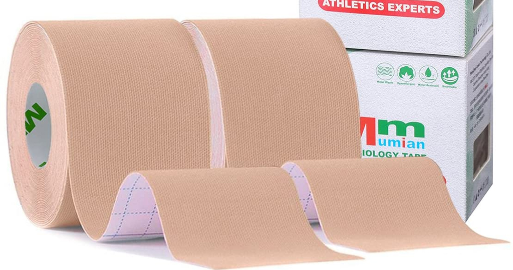 Athletic Sports Tape for Knee Shoulder Wrist Elbow Ankle Only $4.89 Shipped on Amazon (Regularly $6.99)
