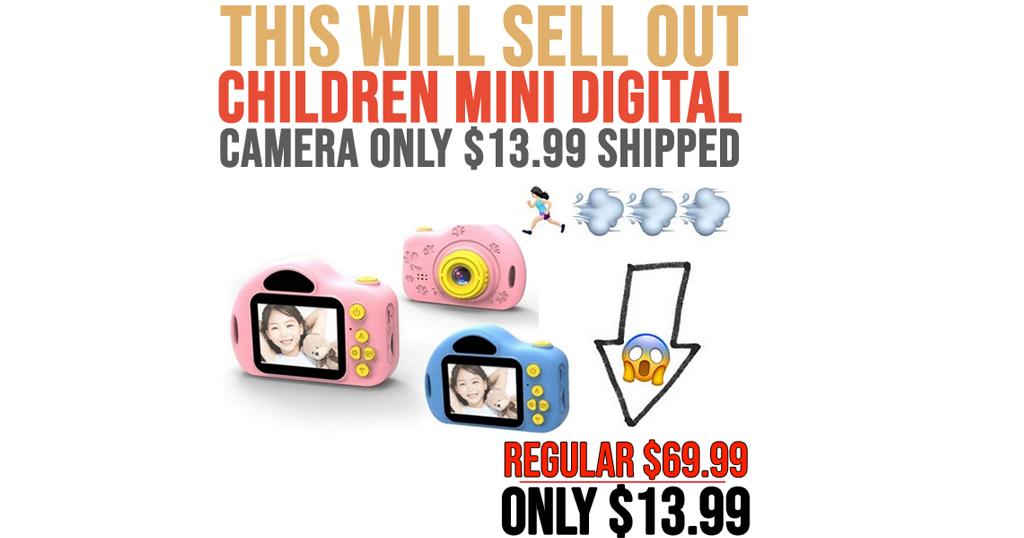 Children Mini Digital Camera Only $13.99 Shipped on Amazon (Regularly $69.99)