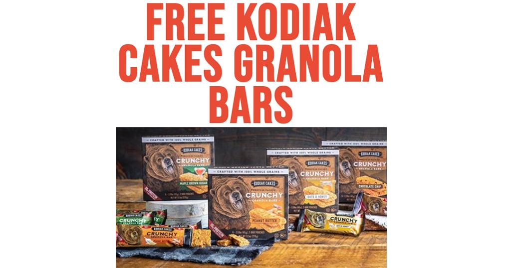 FREE Kodiak Cakes Granola Bars