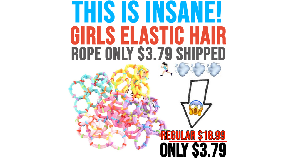 Girls Elastic Hair Rope Only $3.79 Shipped on Amazon (Regularly $26.63)