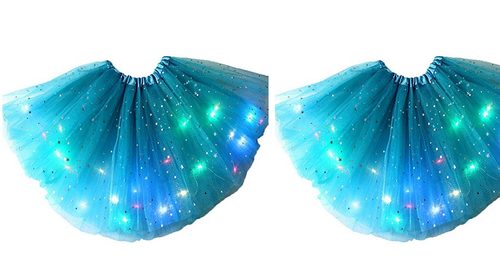 Girls Light-Emitting LED Festival Party Skirt Only $7.89 Shipped on Amazon (Regularly $39.45)