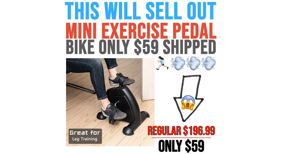 Mini Exercise Pedal Bike Only $59 on Amazon (Regularly $196.99)