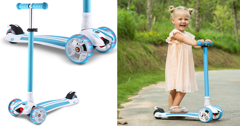 Mini Scooter for Kids Only $37.79 Shipped on Amazon (Regularly $99.99)