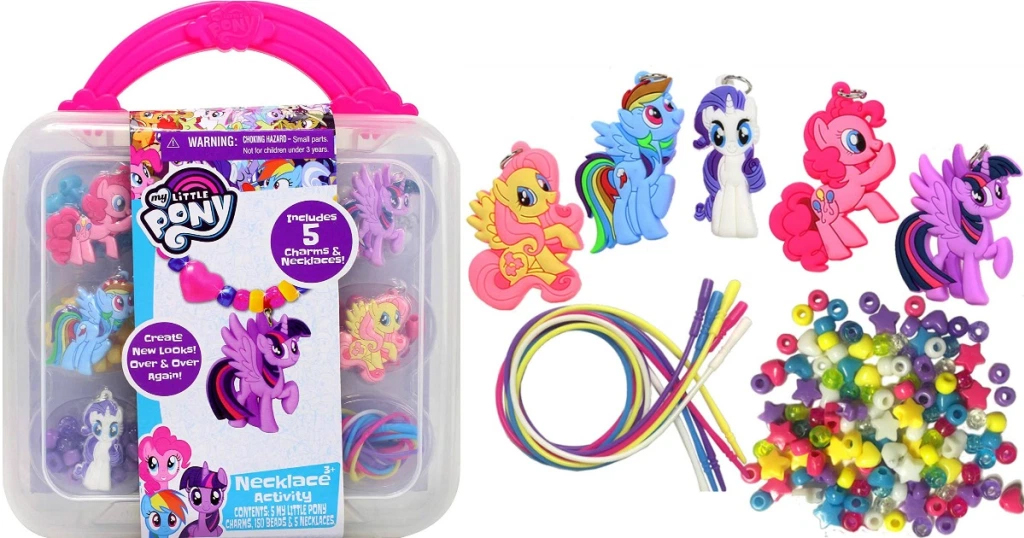 My Little Pony Necklace Activity Set Only $6.49 on Amazon (Regularly $13)