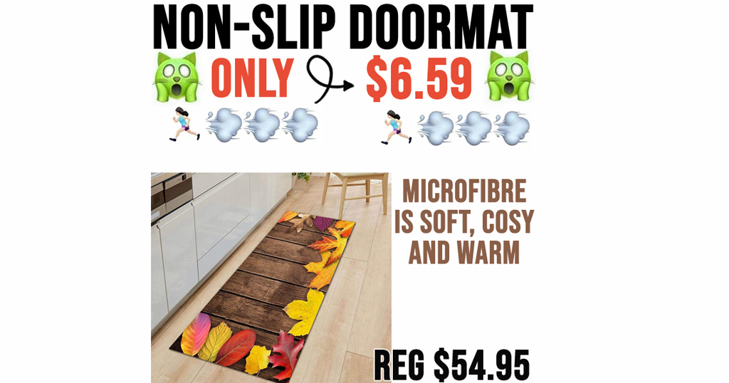 Non-Slip Doormat Only $6.59 Shipped on Amazon (Regularly $54.95)
