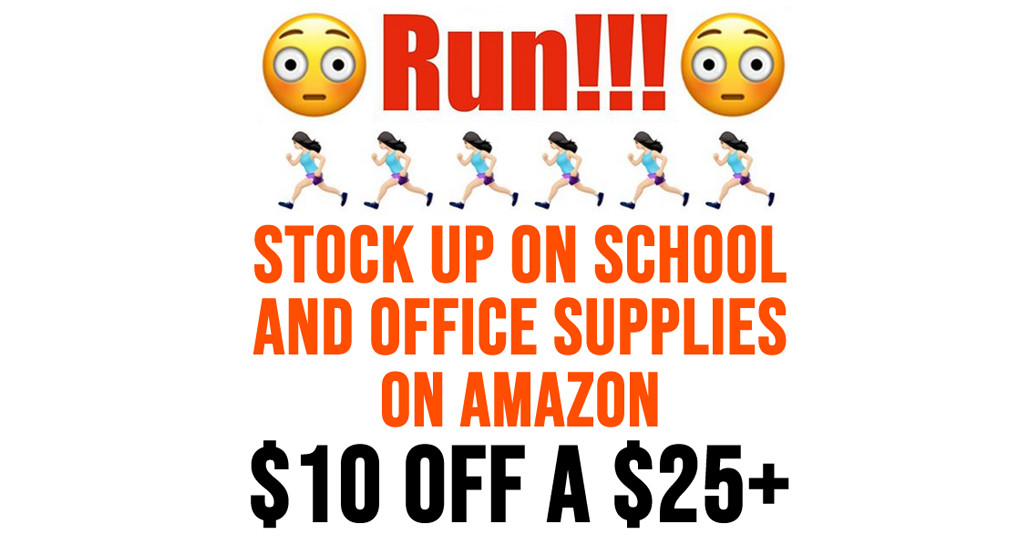 Over $51 Worth of School Supplies Only $20 Shipped on Amazon