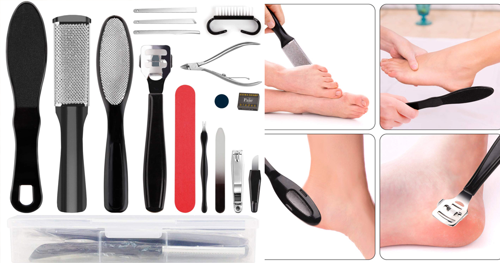 Professional Pedicure Tool Set Only $6 Shipped on Amazon (Regularly $17.99)