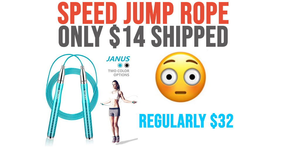 Speed Jump Rope Only $14 Shipped on Amazon (Regularly $32)