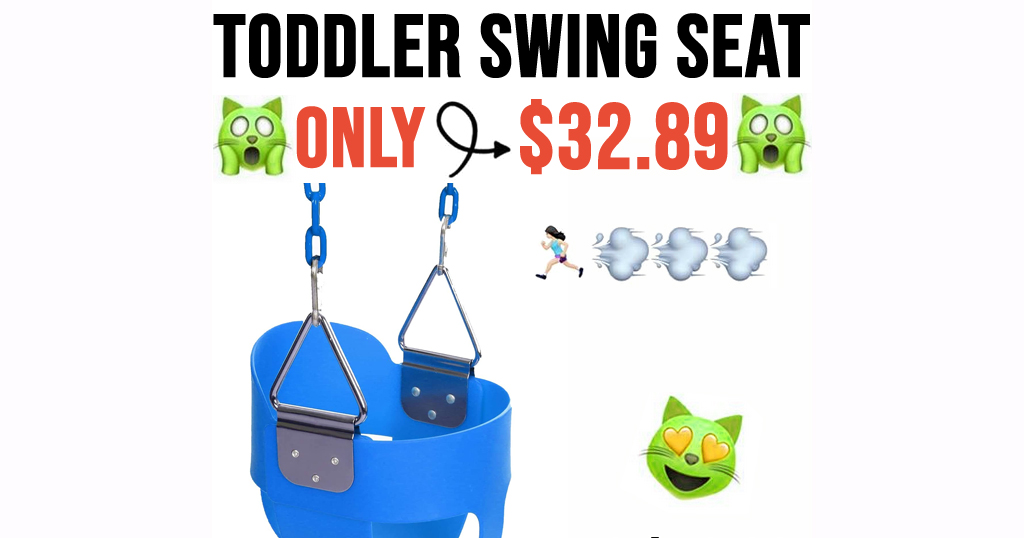 Toddler Swing Seat Only $32.89 Shipped on Amazon (Regularly $46.99)