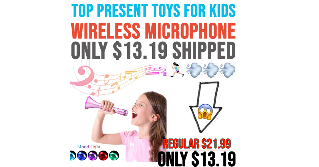 Wireless Karaoke Microphone for Kids Only $13.19 Shipped on Amazon (Regularly $21.99)