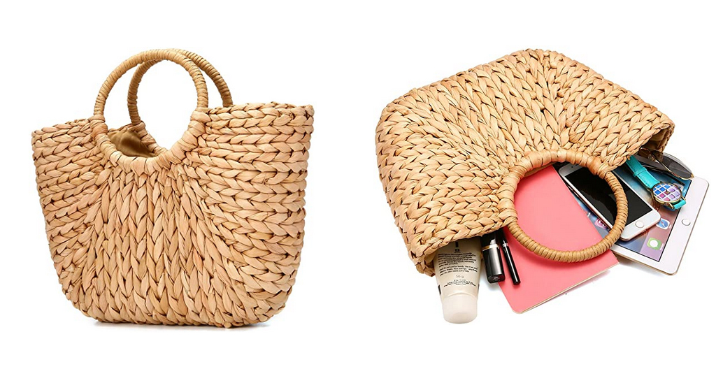 Women Straw Handbag Only $18.69 Shipped on Amazon (Regularly $33.99)