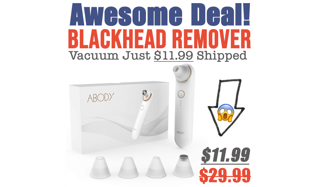 Blackhead Remover Vacuum Just $11.99 Shipped on Amazon (Regularly $29.99)