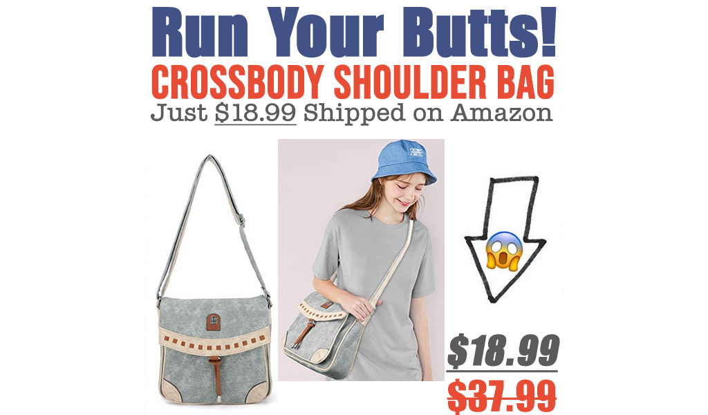 Crossbody Shoulder Bag Just $18.99 Shipped on Amazon (Regularly $37.99)