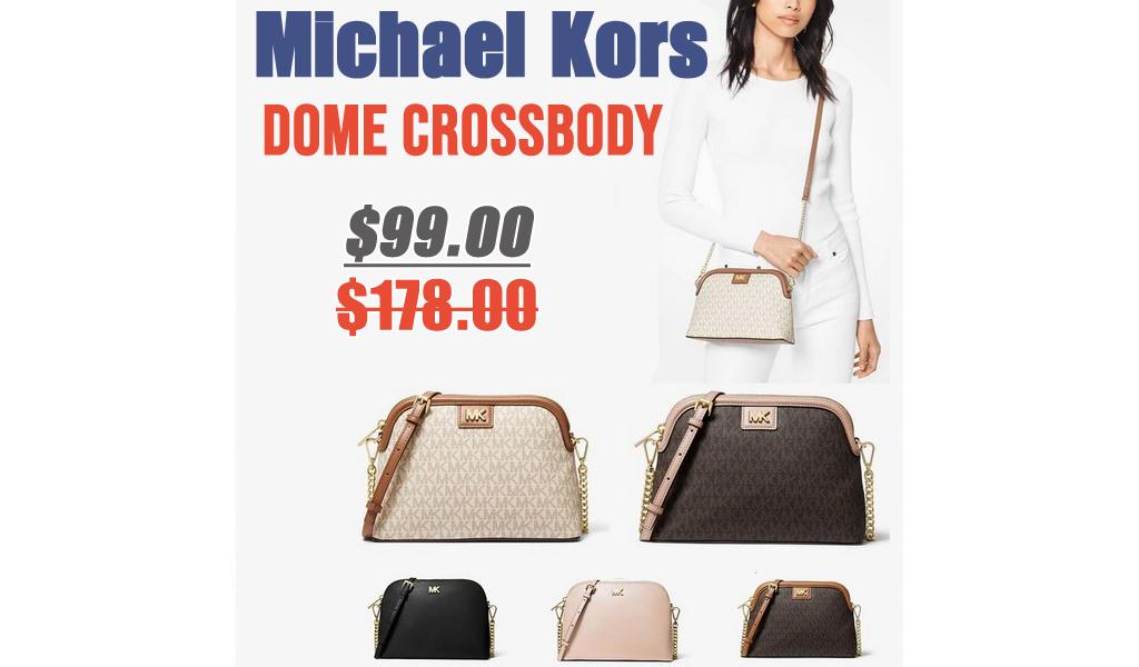 Dome Crossbody Bag Only $99.00 on MichaelKors.com (Regularly $178)
