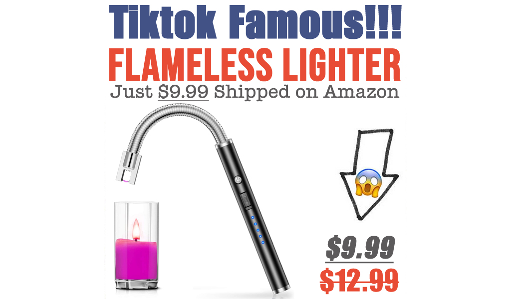 Flameless Lighter Just $9.99 Shipped on Amazon (Regularly $12.99)