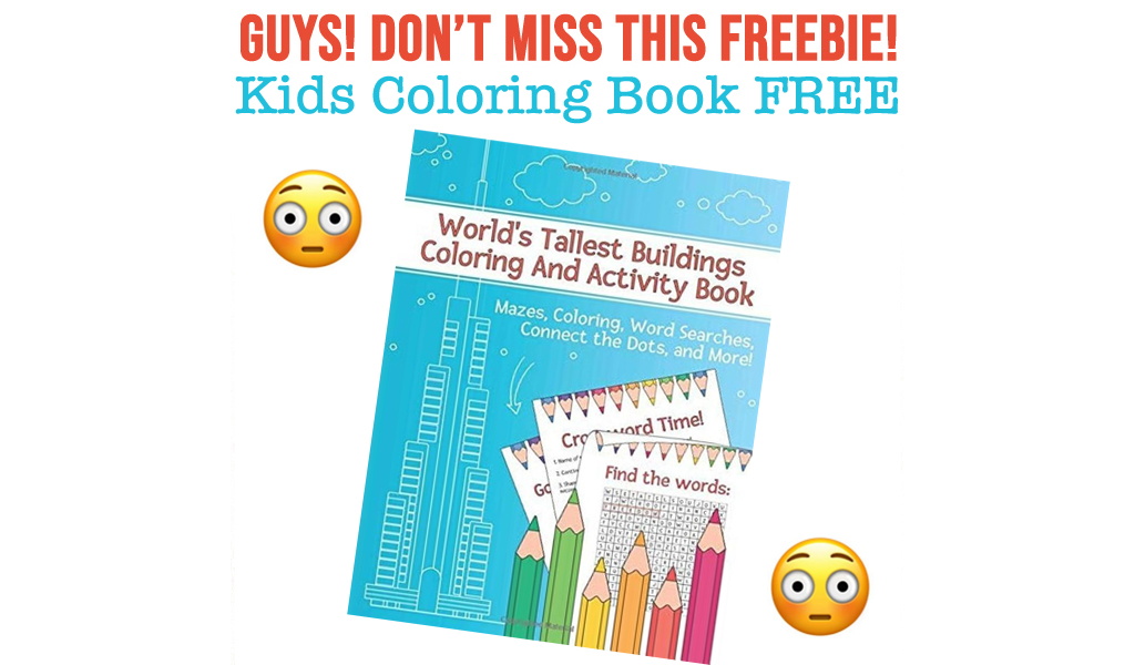 Kids Coloring Book For FREE