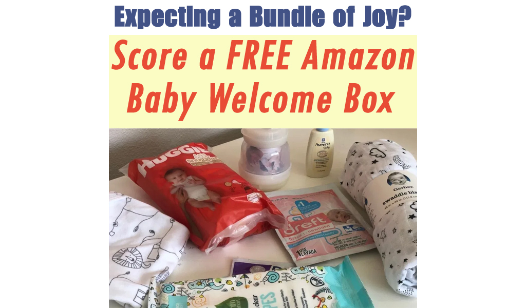 Pregnant? Request a FREE Amazon Baby Welcome Box ($35 Value!)