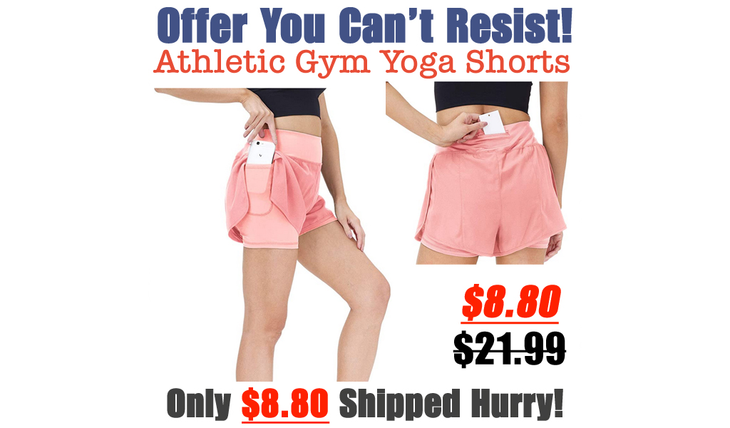 Athletic Gym Yoga Shorts Only $8.80 Shipped on Amazon (Regularly $21.99)