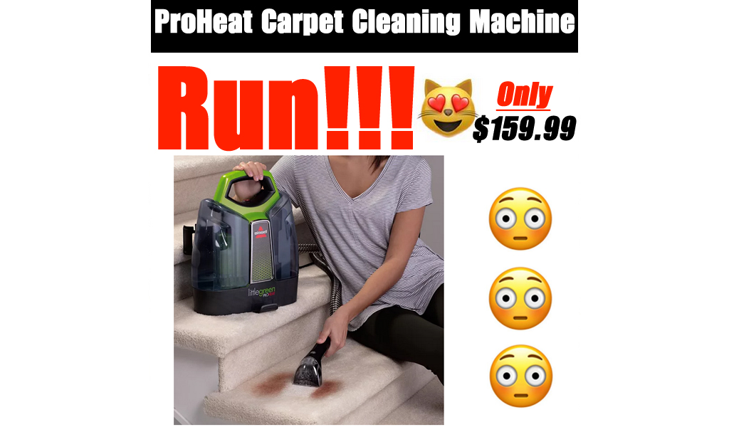 ProHeat Carpet Cleaning Machine Only $159.99 on Kohl's.com