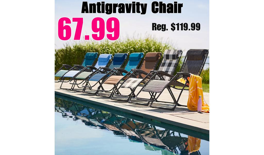Regular Antigravity Chair Only $67.99 on Kohl's.com (Regularly $119.99)