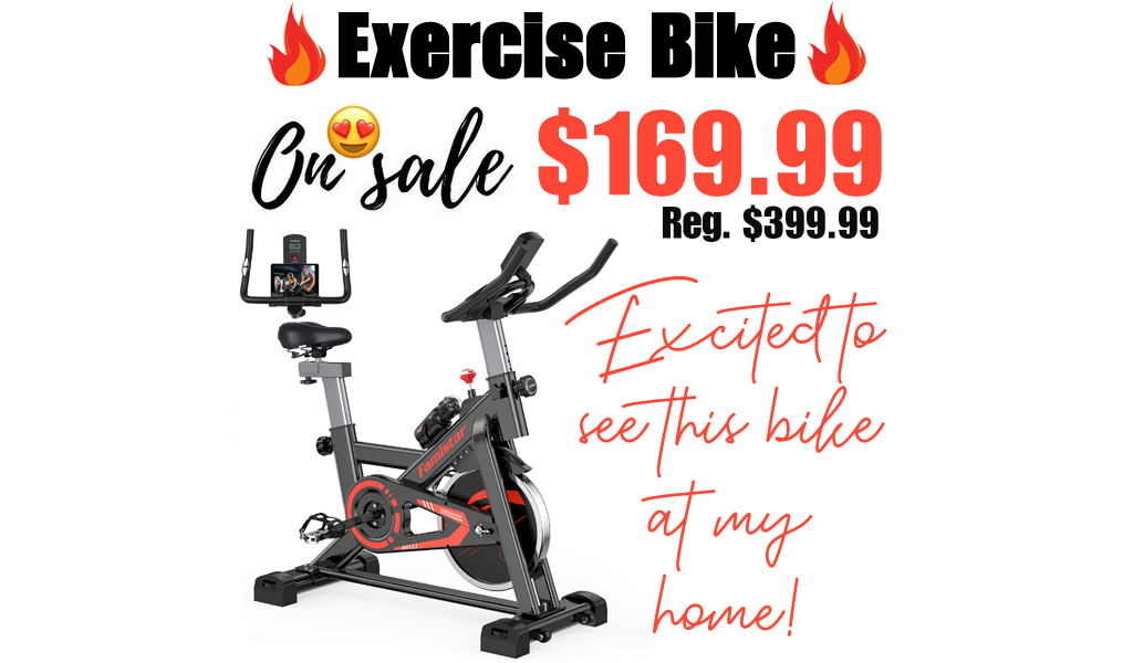 Exercise Bike Only $169.99 Shipped on Walmart.com (Regularly $399.99)