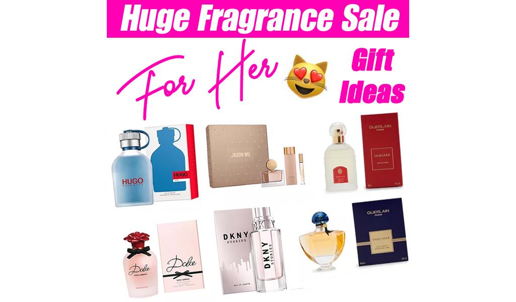 Huge Fragrance Sale on Kohls