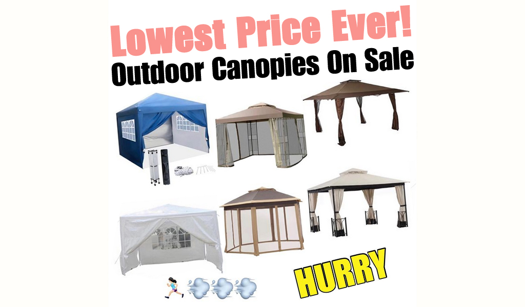 Outdoor Canopies for Less on Wayfair - Big Sale