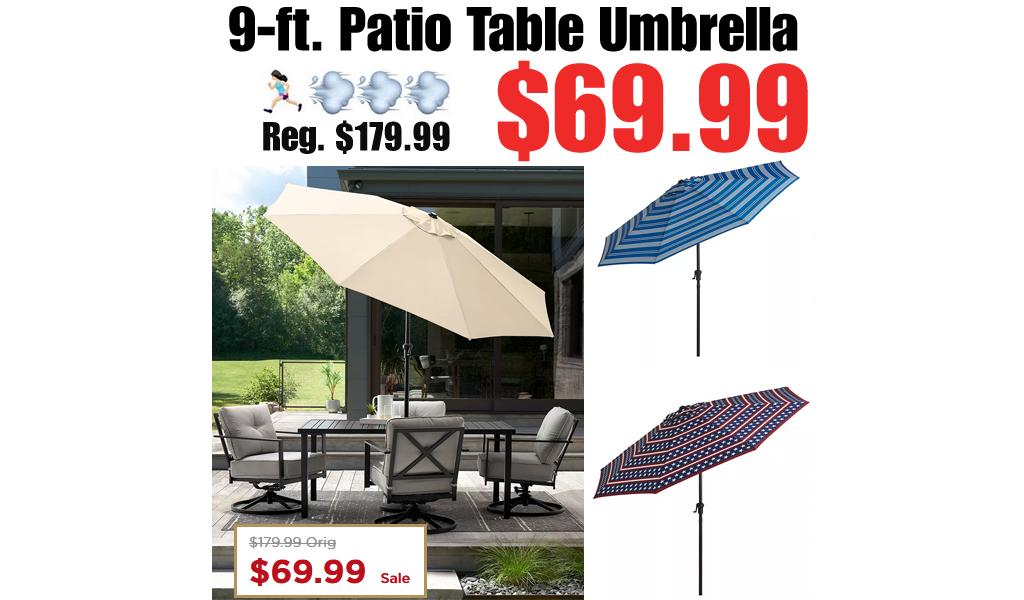 Patio Table Umbrella Just $69.99 on Kohls.com (Regularly $180)