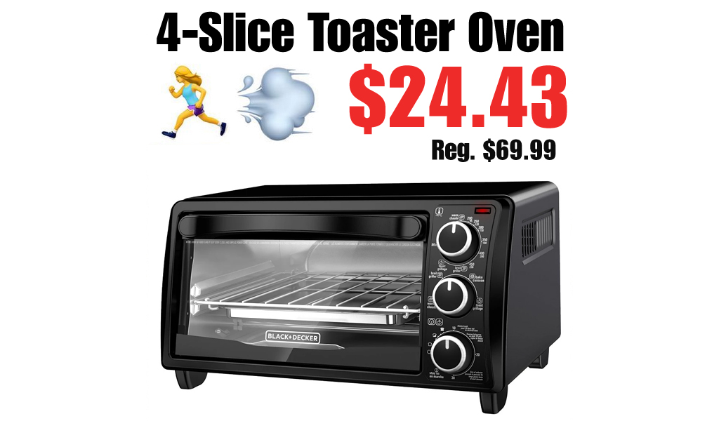 4-Slice Toaster Oven Only $24.43 on Macys.com (Regularly $69.99)