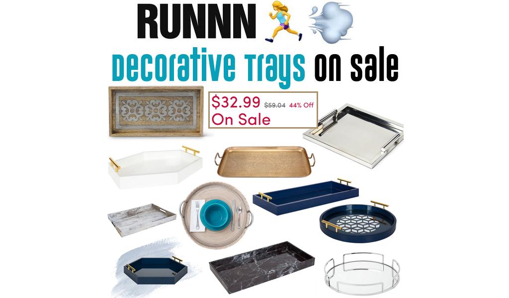 Decorative Trays for Less on Wayfair - Big Sale
