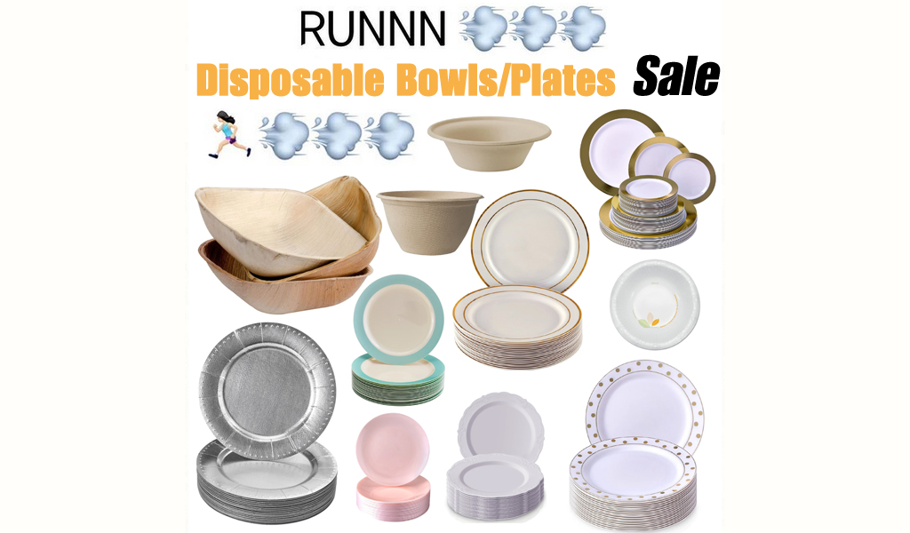Disposable Bowls and Plates for Less on Wayfair - Big Sale