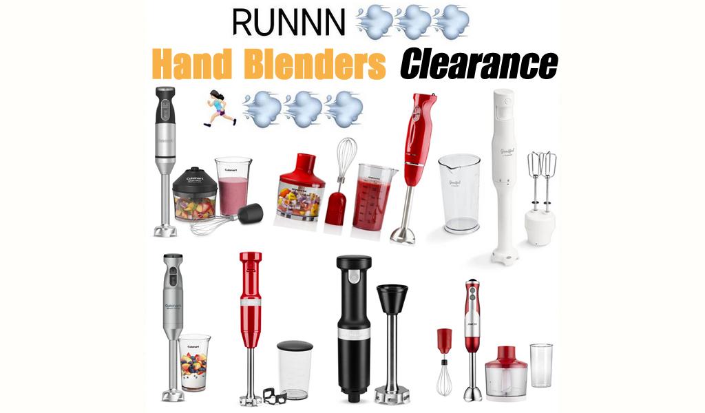 Hand Blenders for Less on Wayfair - Big Sale