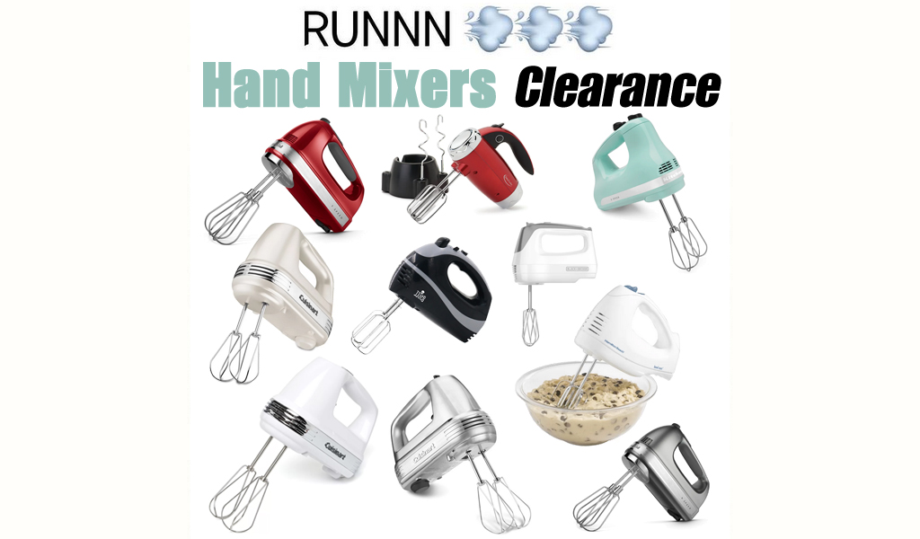 Hand Mixers for Less on Wayfair - Big Sale