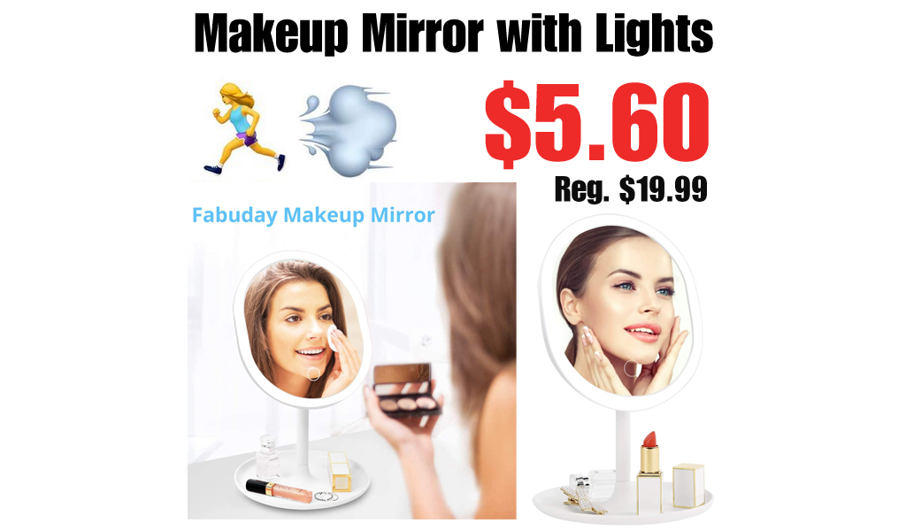 Makeup Mirror with Lights Only $5.60 Shipped on Amazon (Regularly $19.99)
