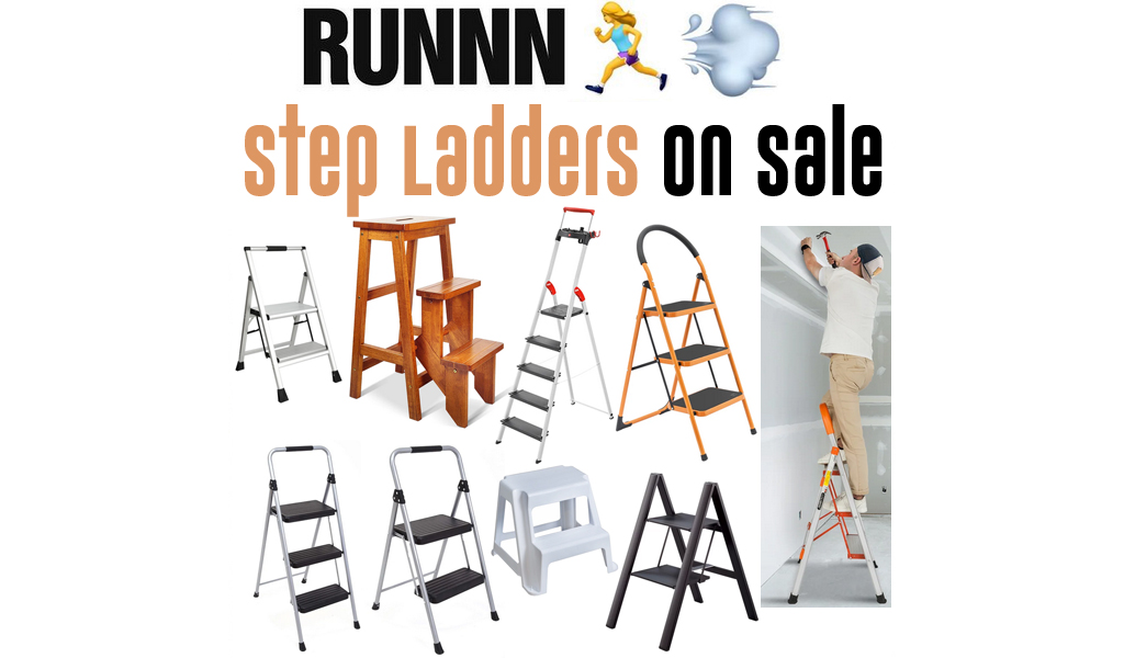 Step Ladders for Less on Wayfair - Big Sale