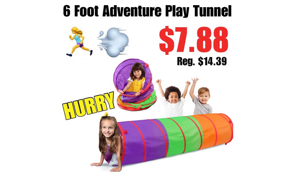 6 Foot Adventure Play Tunnel Just $7.88 on Walmart.com (Regularly $14.39)