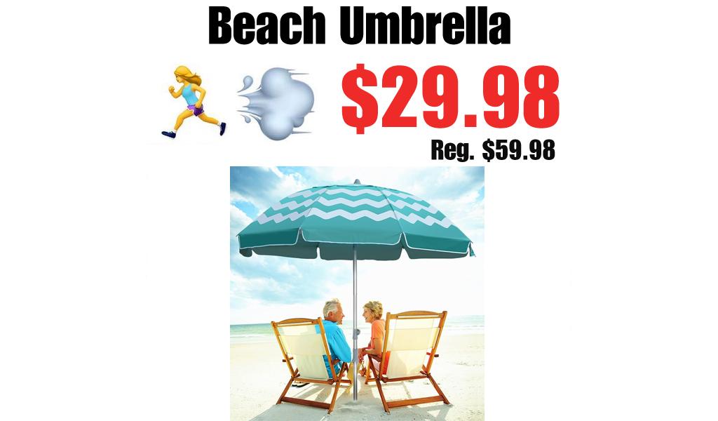 Beach Umbrella Only $29.98 Shipped on Amazon (Regularly $59.98)