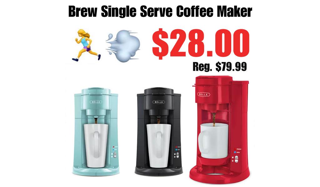 Brew Single Serve Coffee Maker Just $28.00 on Belk.com (Regularly $79.99)