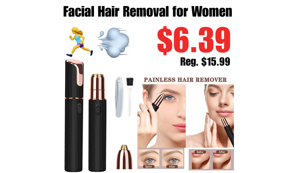 Facial Hair Removal for Women Only $6.39 Shipped on Amazon (Regularly $15.99)