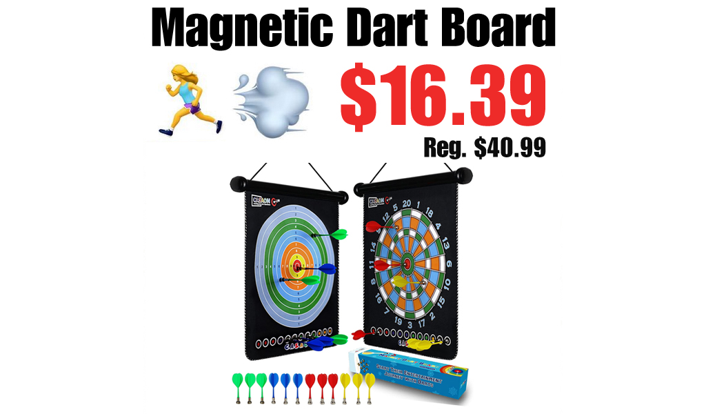 Magnetic Dart Board Only $16.39 Shipped on Amazon (Regularly $40.99)