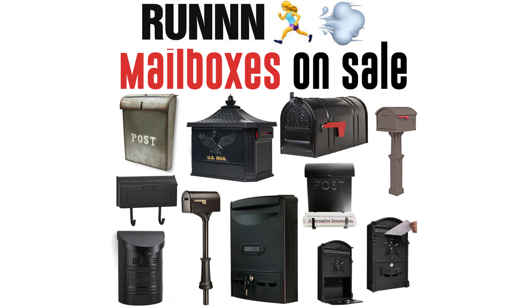Mailboxes for Less on Wayfair - Big Sale
