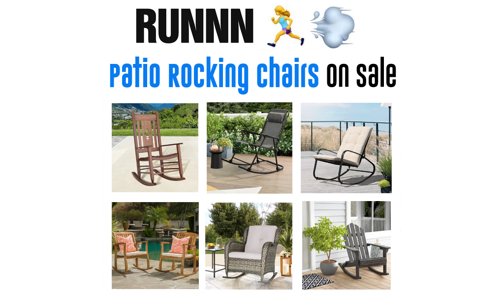 Patio Rocking Chairs for Less on Wayfair - Big Sale