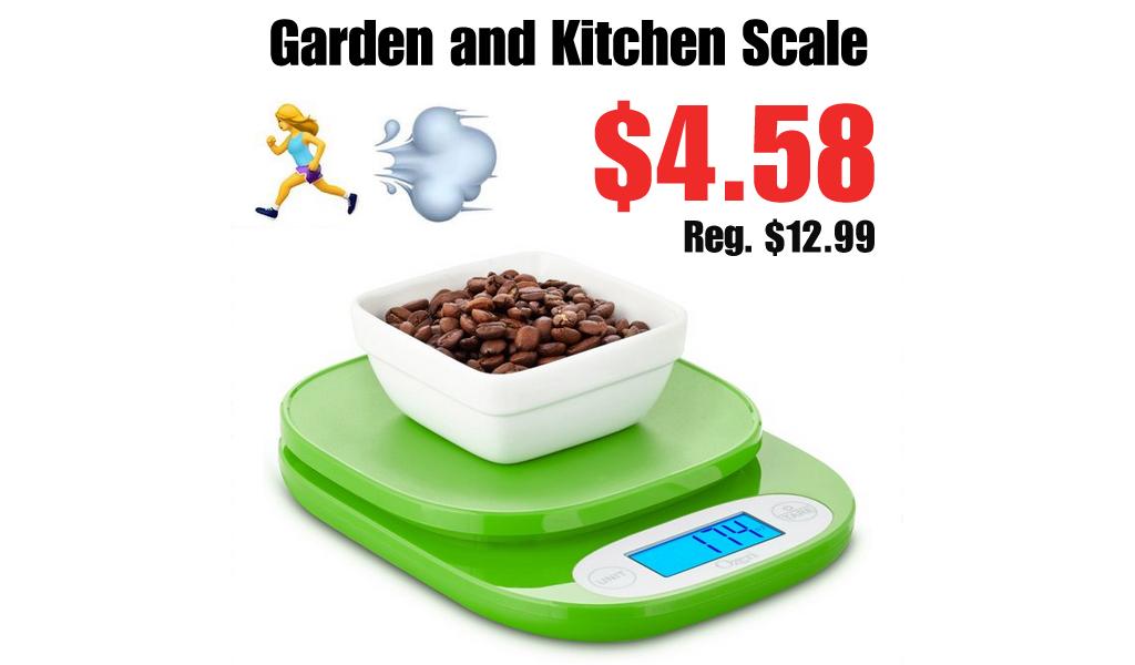 Digital Kitchen & Garden Scale Only $4.58 on Walmart.com (Regularly $13)