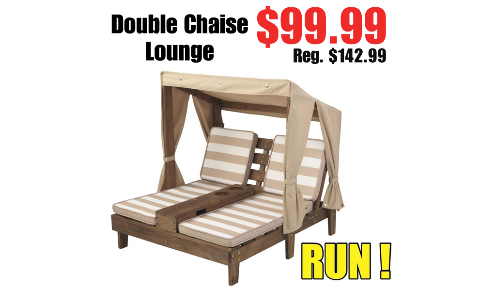 Double Chaise Lounge Just $99.99 on Walmart.com (Regularly $142.99)