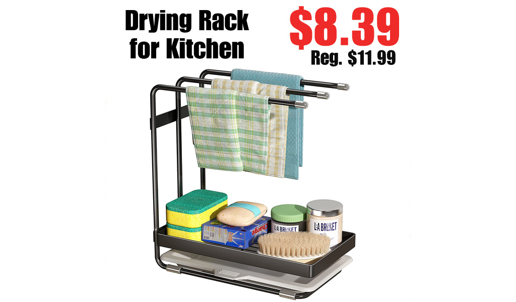 Drying Rack for Kitchen Only $8.39 Shipped on Amazon (Regularly $11.99)