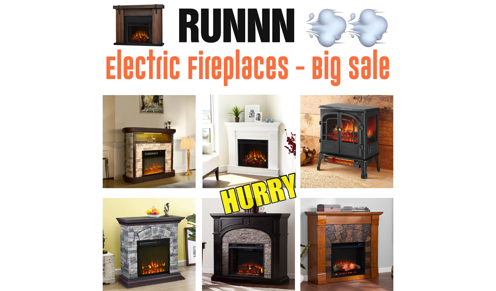 Electric Fireplaces for Less on Wayfair - Big Sale