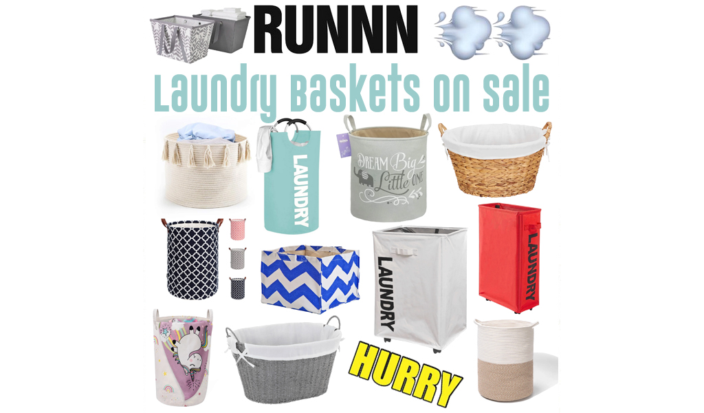 Laundry Baskets for Less on Wayfair - Big Sale