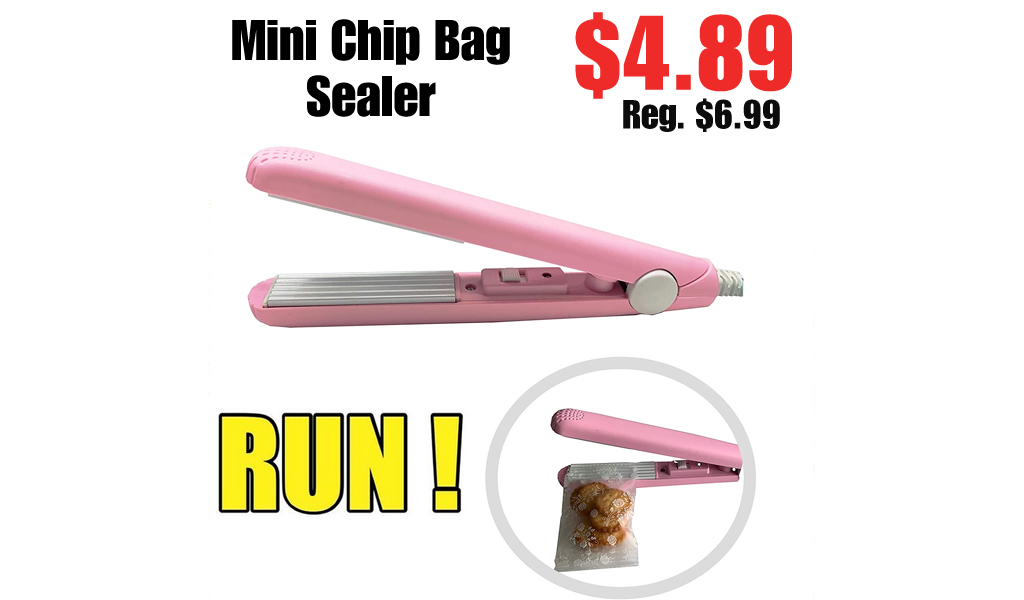Mini Chip Bag Sealer Only $4.89 Shipped on Amazon (Regularly $6.99)